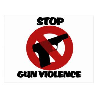 Stop Gun Violence Postcard