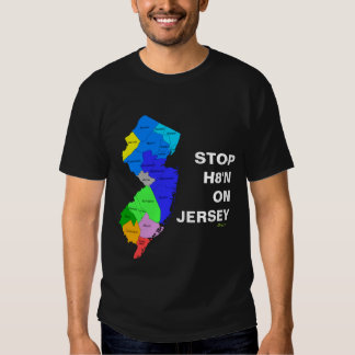 STOP H8'N ON JERSEY T-Shirt