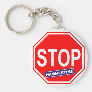 Stop Hammertime Key Ring