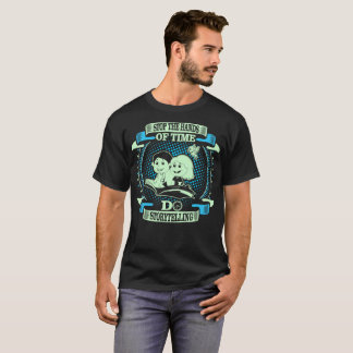 Stop Hands Of Time Do Storytelling Outdoors Tshirt
