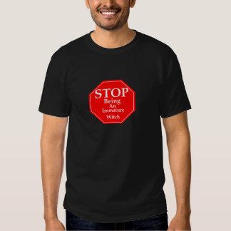 Stop Immaturity  #2 Tshirt