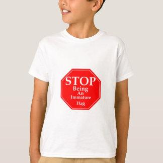 Stop Immaturity  #3 Shirts