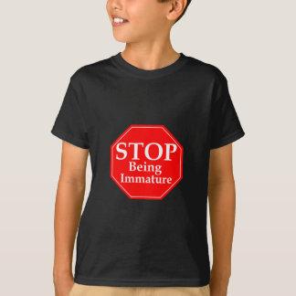 Stop Immaturity Tees