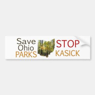Stop KaSICK Parks Bumper Sticker