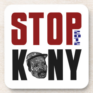 Stop Kony 2012 Beverage Coaster