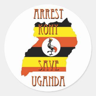 Stop Kony 2012 Classic Round Sticker