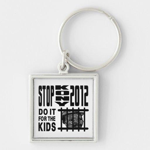 Stop Kony 2012 - Do it for the KIDS Keychain