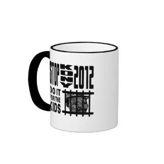 Stop Kony 2012 - Do it for the KIDS Ringer Mug