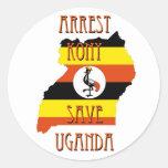Stop Kony 2012 Round Sticker