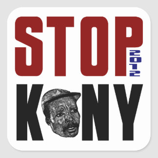 Stop Kony 2012 Square Sticker