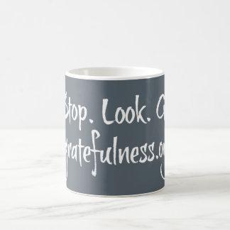 Stop.Look.Go. Mug Grey