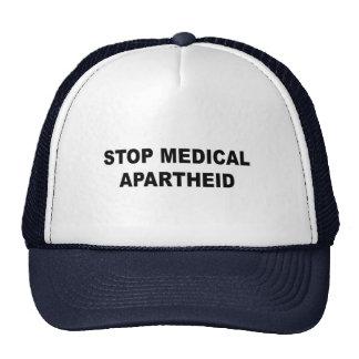 Stop Medical Apartheid Trucker Hat