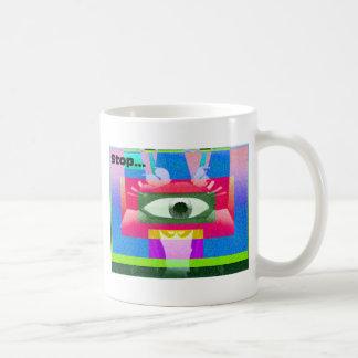 Stop!!! Coffee Mug