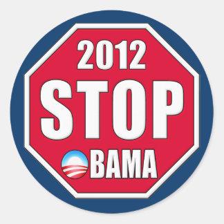 Stop Obama 2012 Sticker