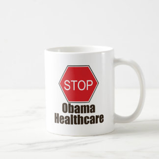 Stop Obama Healthcare Mug
