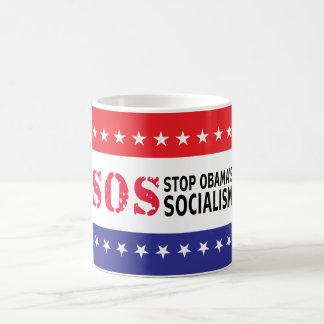 Stop Obama s Socialism - SOS Coffee Mug