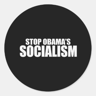 STOP OBAMA SOCIALISM Bumpersticker Stickers