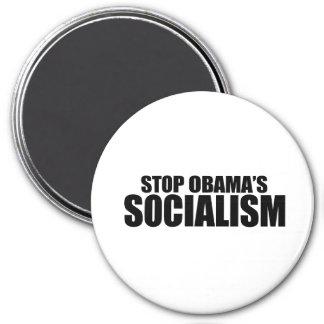 STOP OBAMA SOCIALISM REFRIGERATOR MAGNETS
