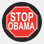 Stop Obama Stickers