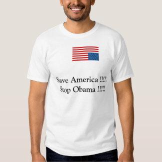 Stop Obama Tshirts
