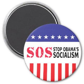 Stop Obama's Socialism - SOS Magnets