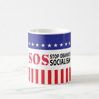Stop Obama's Socialism - SOS Mug