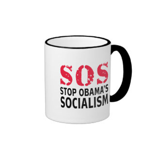 Stop Obama's Socialism - SOS Mugs