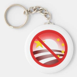 Stop Obammunist Socialism Keychain