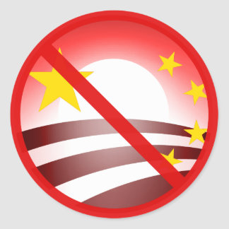 Stop Obammunist Socialism Stickers