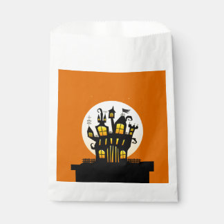 Stop On By Halloween Favor Bags