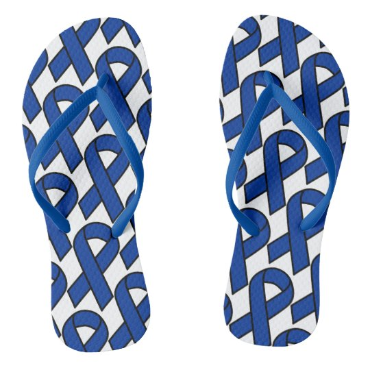 Stop out Colon Cancer flip flops