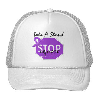 Stop Pancreatic CancerTake A Stand Trucker Hat