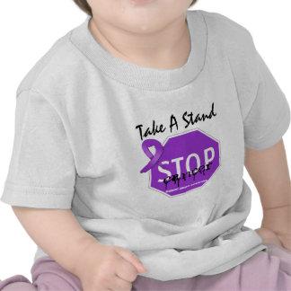 Stop Pancreatic CancerTake A Stand Tshirt