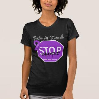 Stop Pancreatic CancerTake A Stand Tee Shirts