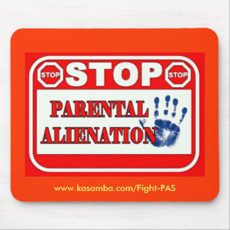 Stop Parental Alienation Mouse Mats