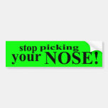 Stop Picking Your Nose