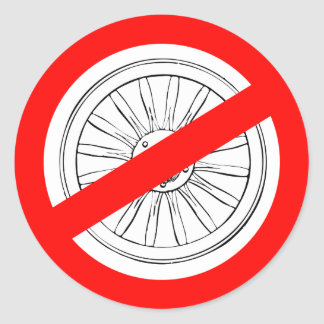 """Stop Playing """"Wagon Wheel"""" stickers"""