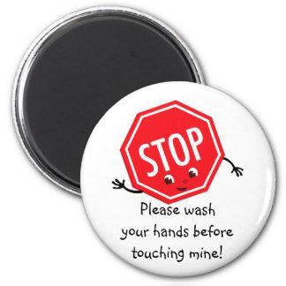 Stop Please Wash Magnet