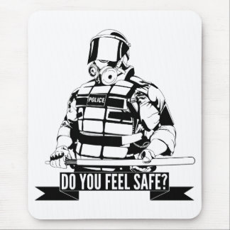 Stop Police Brutality Art for Occupy Movements Mouse Pad