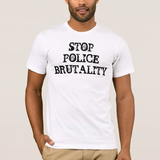 STOP POLICE BRUTALITY T-Shirt - Customised