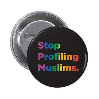 Stop Profiling Muslims Rainbow Button