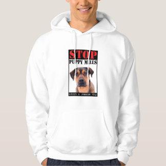 STOP Puppy Mills Hooded Sweatshirt
