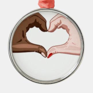 Stop Racism Christmas Ornament