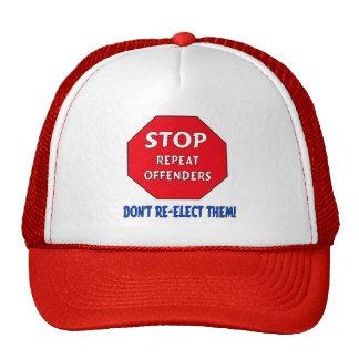 Stop Repeat Offenders Cap