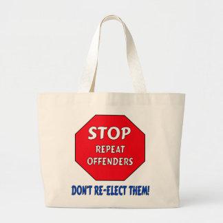 Stop Repeat Offenders Bags