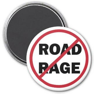 Stop Road Rage 7.5 Cm Round Magnet