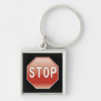 Stop | Road Signs Key Ring