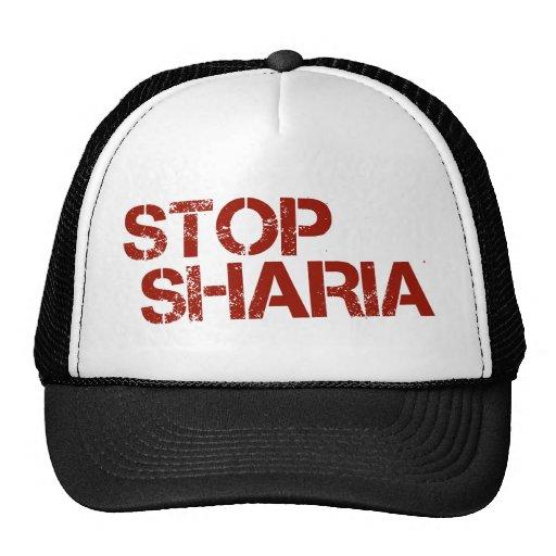 STOP SHARIA MESH HATS