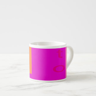 Stop Shocking Pink Espresso Mug