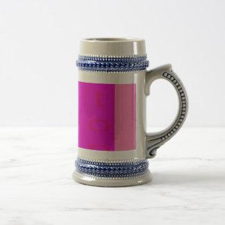 Stop Shocking Pink Mugs